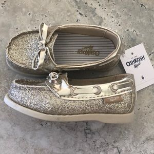 OshKosh Sparkle Boat Shoes